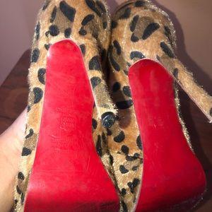Vintage red bottom heels